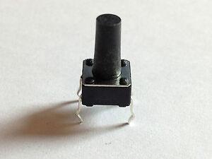 5x Mikrotaster 6x6x11 mm   Taktile Kurzhubschalter Taster   5 Stück