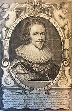 Prince George Villiers duc marquis comte de Buckingham Moncornet  C1625 XVII ème