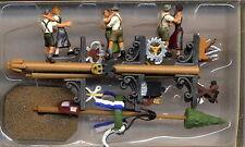NOCH 15858 PERSONAGGI 6 Figurini che Ballano FESTA Tradizionale Diorama H0 1:87