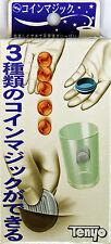 Tenyo Japan 114551 COIN AND GLASS (Magic Trick)