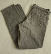 """Ladies Old Navy Diva Skinny Jeans in Solid Gray Sz 8 Low Rise 29"""" Inseam"""