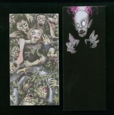 MONSTERS, ZOMBIES & FREAKS (Cult-Stuff/2011) MINI-CHASE CARD SET MC1 & MC2