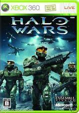 Used Xbox 360 Halo Wars MICROSOFT JAPAN JP JAPANESE JAPONAIS IMPORT