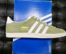 the best attitude 4a117 70679 Scarpe Adidas Gazzelle Og D65429 Verde Sneakers tg 46 camoscio Nuovo
