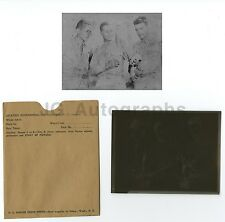WWII Marine Corps Large Format Camera Negative - Robert H. Westmoreland Archive