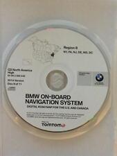02 03 BMW M3 M5 525i 530i 540i NAVIGATION DISC 2014 CD REGION NY PA NJ DE MD DC