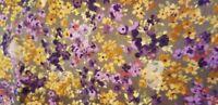 BTY Autumn Mist by Hoffman fabrics purple floral S#J7041
