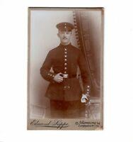 CDV Foto Soldat - Naumburg 1900er