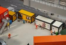 130136 Faller HO Kit of 4 Building site containers, yellow / grey - NEW 2019