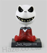 "Bobble Head Jack Skellington The Nightmare Before Christmas Figure with Box  4"""