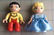 Lego Duplo Disney Cinderella &  Prince Charming Mini figures