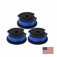 Ryobi One+ AC14RL3A  .065 Line and Spool for Ryobi 18/24/40V Trimmer,3 Pack