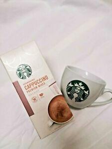 (READY STOCK) STARBUCKS INSTANT CAPPUCCINO PREMIUM ARABICA COFFEE (4x14GM)