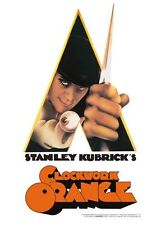 Clockwork Orange - 8 x 11.5 Tin Sign - Brand New - Movie 30189