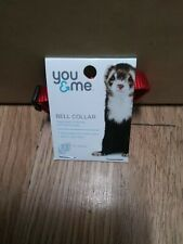 You & Me Ferret Bell Collar Red Works With Leads