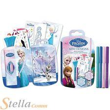 Disney Frozen Mini diseño para colorear Libreta de dibujo ADHESIVOS & PENS