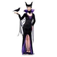 Maleficent Adult Women Dress Fancy Costume Halloween/Cosplay Black Medium Size A