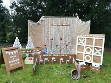 Wedding party garden games FOR HIRE rustic carnival