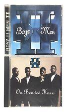 Boyz II Men - 2 CD Lot - II & On Bended Knee - Excellent Discs! Free Shipping!