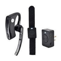 Walkie Talkie Bluetooth Headset Earpiece PTT Remote For Motorola Two Way Radio