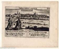 Steinfurt die Stad - Kupferstich Meisner Schatzkästlein 1630