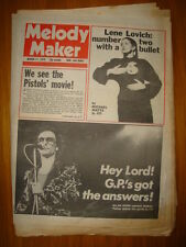 MELODY MAKER 1979 MAR 17 GRAHAM PARKER SEX PIXTOLS