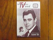March 1967  Lancaster Pa TV Week (MICHAEL CALLAN/EDGAR  BUCHANAN/OCCASIONAL WIFE