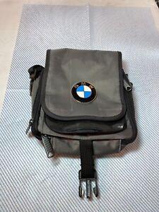 BMW Badge Manbag Case Grey Shoulder Carrier For Men Gift
