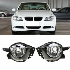 2x Clear Front Fog Lights Lamp Housing Case for BMW 3 Series E90/E91 2004-2008