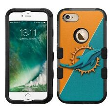 for Apple iPhone 7 Plus Impact Armor Rugged Hard Hybrid Case Miami Dolphins #J