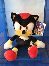 Rare Original Licensed Classic Shadow. Sonic The Hedgehog Plush Toy From Sega.