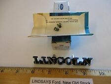 """FORD 1980/1981 LINCOLN CONTINENTAL(D) """"PLATE NAME"""" TRUCK/DECK LID, W/ATTG. PARTS"""