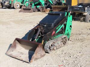 2015 Toro TX 525 Walk Behind Dingo Mini Skid Steer Tracked Loader Hyd bidadoo