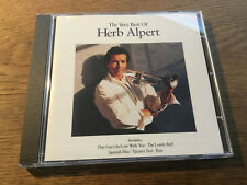 Herb Alpert - The Very best of  [CD Album] Lonely Bull Tijuana Taxi Spanish Flea