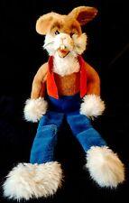 "Rare STEIFF LOGGI Plush BUNNY RABBIT 1981 Western Germany Large 24"""