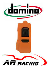 Domino Universal Start Stop / Map / Rain Light Handlebar Switch in Orange