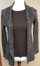 2 Pc Set EILEEN FISHER Black +  Brown Speckle Linen Knit Sweater +Tank Size XS