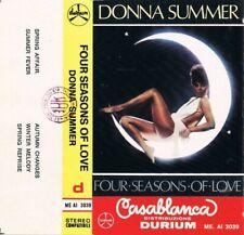 "Cassetta ""Donna Summer – Four Seasons Of Love"" Come Nuova"