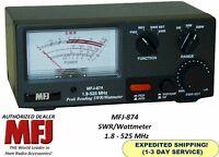 MFJ 874 SWR & Wattmeter 1.8-525 MHZ, 200 Watts, GrandMaster Series