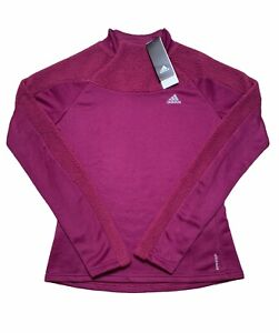 Adidas Running Carrera Aeroready Sweatshirt Womens Size Medium $65.00