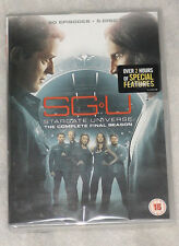 SGU: Stargate Universe Complete Season 2 (Final) DVD Box Set - UK Region 2 NEW