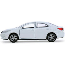 Toyota Corolla White Diecast Metal Model Car Toy Die-cast Cars
