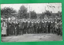 More details for l'entente cordiale french navy fleet at portsmouth 1905 pc unused ak227