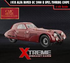 CMC M-107 1:18 1938 ALFA ROMEO 8C 2900 B SPEC. TOURING COUPE RED