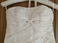 San Patrick Wedding dress, cream, ivory, size UK 10