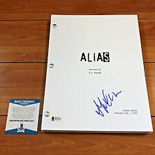 JENNIFER GARNER SIGNED ALIAS FULL 72 PAGE PILOT SCRIPT w/PROOF & BECKETT BAS COA