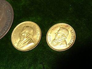 RARE full set Paul Kruger Coins inc Gold Pond c1898 1 & 1/2 5 Shillings Africa