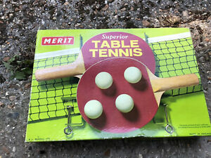 Brand-New Table Tennis Set In Box