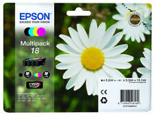 New Original Epson 18 Daisy Claria Multipack Ink Cartridges, T1806 C13T18064010