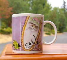 Chaleur Coffee Mug What Fun to Be A Cat Christopher Morley Michelle Broussard